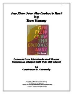 Literary analysis of one flew over the cuckoos nest
